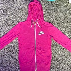 Women's Nike zip ups